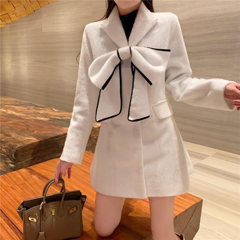 Abrigo de pelo nuevo para mujer, chaqueta kobieta kurtka, abrigo femenino de...