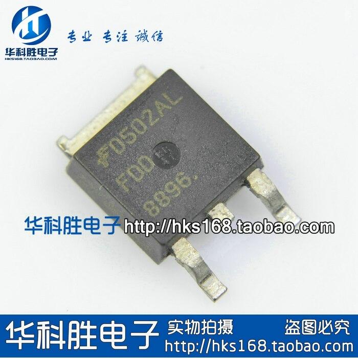Envío FDD8896 tubo de efecto de campo de parche gratuito TO-252 30V94A