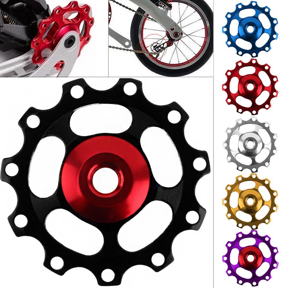 Aluminum Alloy 11 Gear Bicycle Road MTB Rear Derailleur Pulley Guide Roller Wheel for Shimano Derailleur