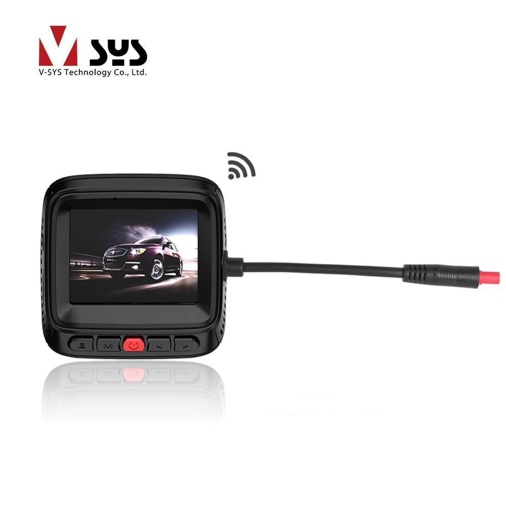 VSYS M8 Wi-Fi Видеорегистраторы для автомобилей Super HD 4К регистраторы Регистраторы OV4689 MOV H.264 видео Автомобильный Регистраторы регистратор, gps 128 Г...