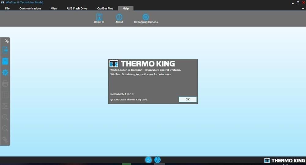 Термо Кинг Wintrac 6,3 с инженерным уровнем и уровнем дилера