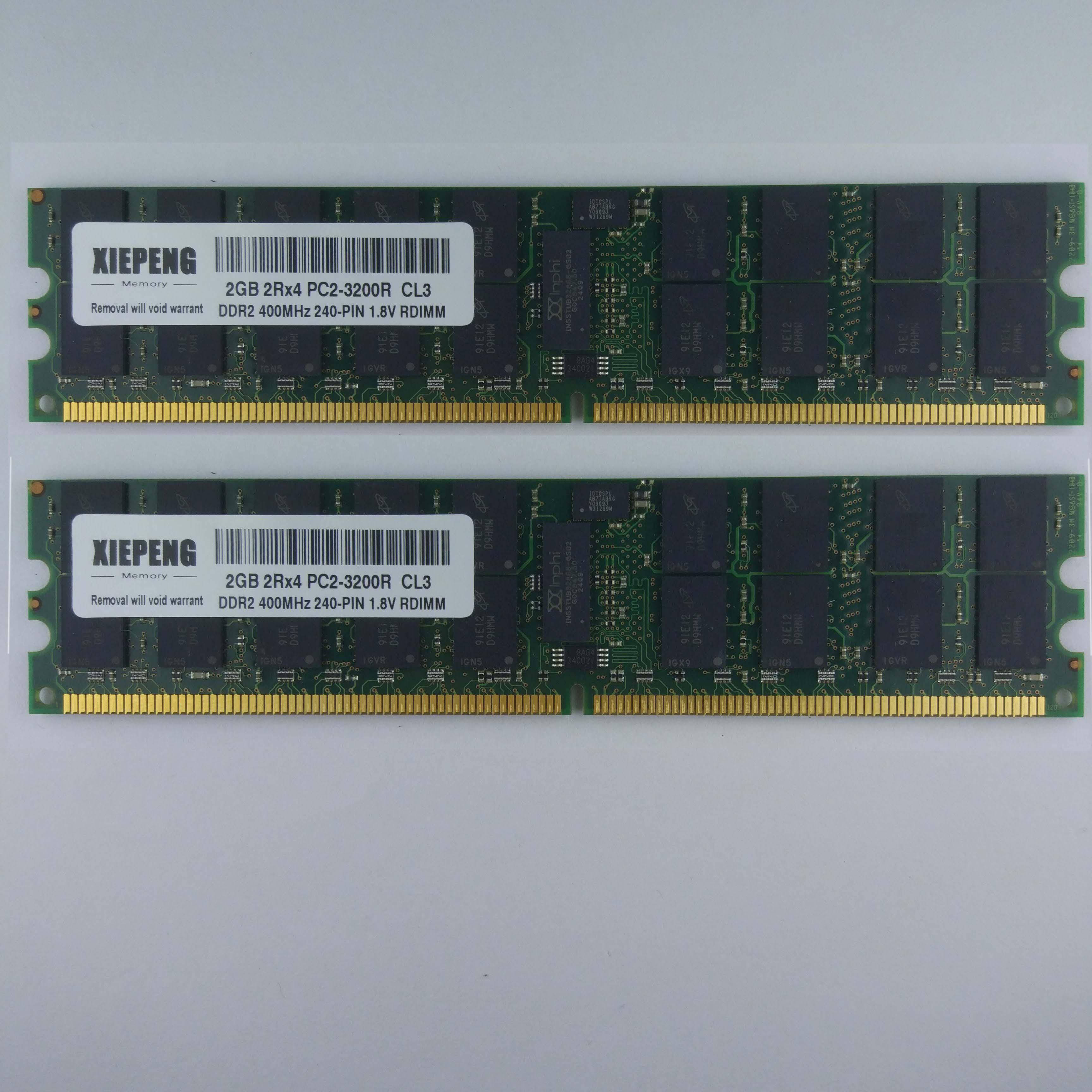 IBM eServer 260x8865x336x1879x346-1880 servidor RAM 4GB 2Rx4 PC2 3200 16GB 8GB DDR2...