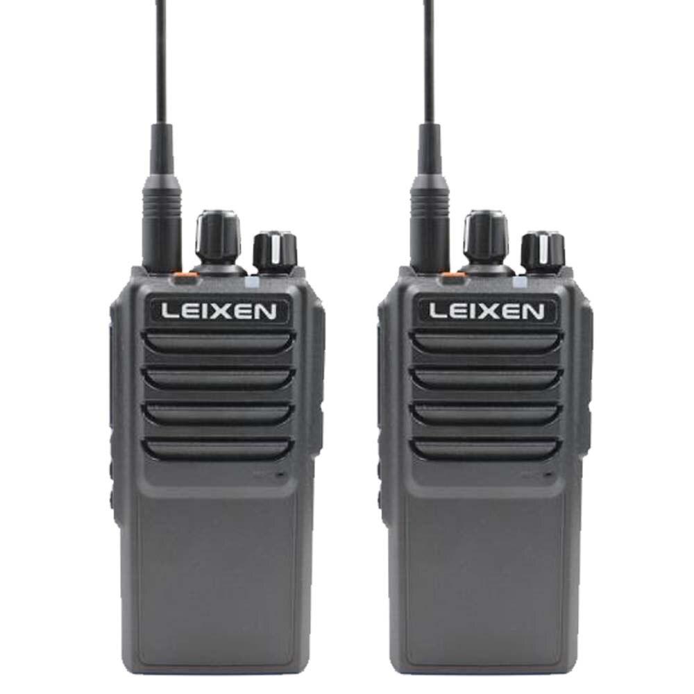 2pcs leixen nota presunto rádio uhf 400-480mhz longo alcance de conversação amador walkie talkie 20w com ventilador de refrigeração professional