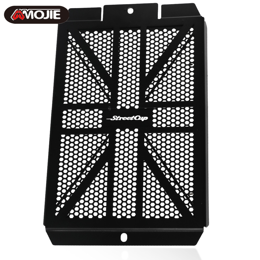 For Street Cup 2017 2018 2019 2020 2021 Motorcycle Engine Radiator Bezel Grille Protector Grill Rectifier Guard Cover for triumph street triple r s rs 2017 2018 2019 2020 streettriple streettriplers radiator grille guard protector cover motorbike