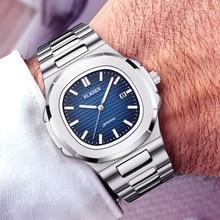 PP NAUTILUS 5711 concepteur PLADEN marque montre pour hommes entièrement en acier lumineux mains haut luxe hommes poignet AAA patek montre mâle horloge