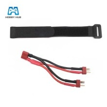T Plug Parallel line Double Battery Convert Wire For Feiyue FY03 FY02 FY01 For WLtoys 12428 12423RC