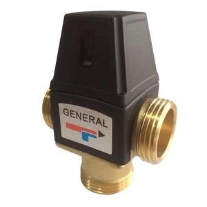 1 Pcs 3 Way DN25 External Thread Brass Thermostatic Mixing Valve Solar Water Heater Thermostatic Valve