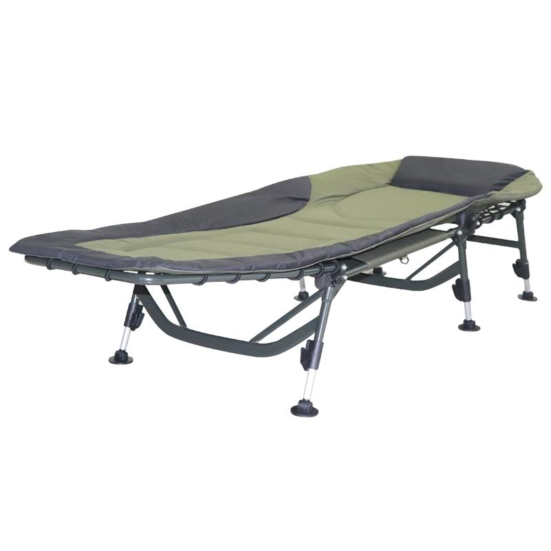 في الهواء الطلق المحمولة سرير قابل للطي شخص واحد التخييم المهد وسادة النوم سرير أطفال التخييم حصيرة للنزهة في الهواء الطلق