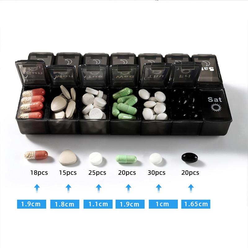 1 шт медицина таблетки держатель нож для разрезания таблеток сплиттер таблетки чехол Мини-полезные Портативный ящик для хранения таблетки ...