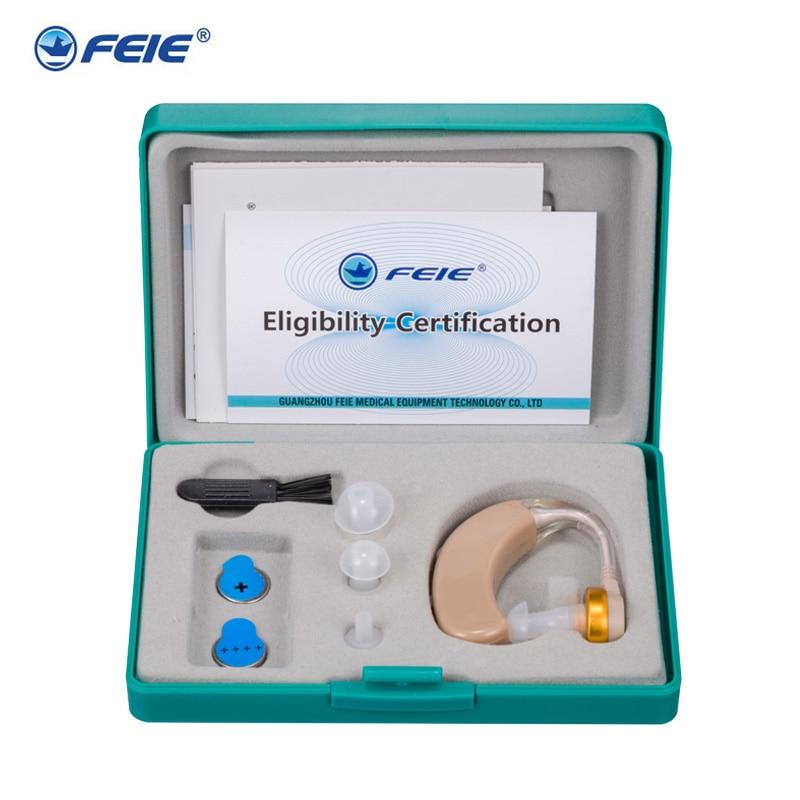 الأذن أداة المستشفى السمع خلف الأذن تعزيز سماعة سماعة الصمم جهاز S-520 انخفاض الشحن