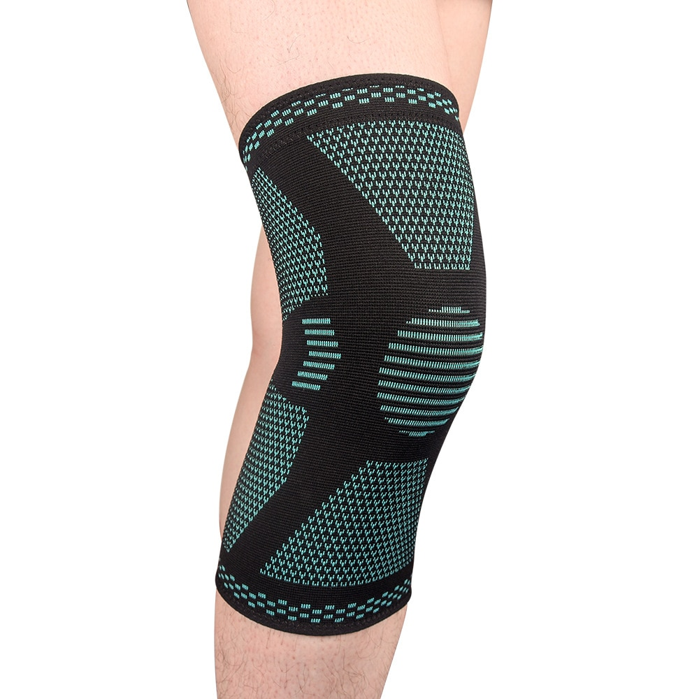 knee protector support compression knee pads for joints arthritis brace sport leg warmers volleyball football elastic bandage Knee Sport Pads Brace Compression Knee Pads For Dancing Work Joints Arthritis Protector Tape Gym Volleyball Sports Accessories