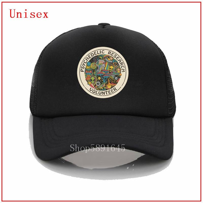 Psychelic, sombrero de béisbol para voluntarios de investigación, gorras de mujer para Mujeres, Gorras, gorras de camionero más populares, sombreros para hombres