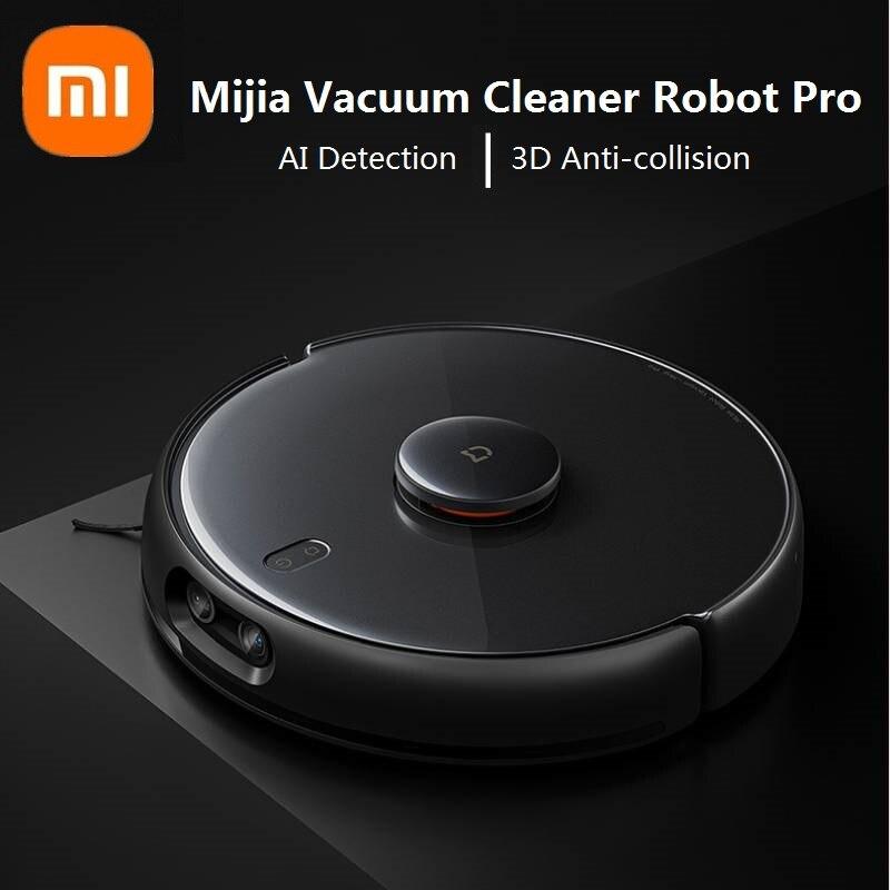 Xiaomi Mi Robot Vacuum Pro inteligentny dom zamiatanie i przeciąganie zintegrowana maszyna AI inteligentne rozpoznawanie, 3D unikaj przeszkód