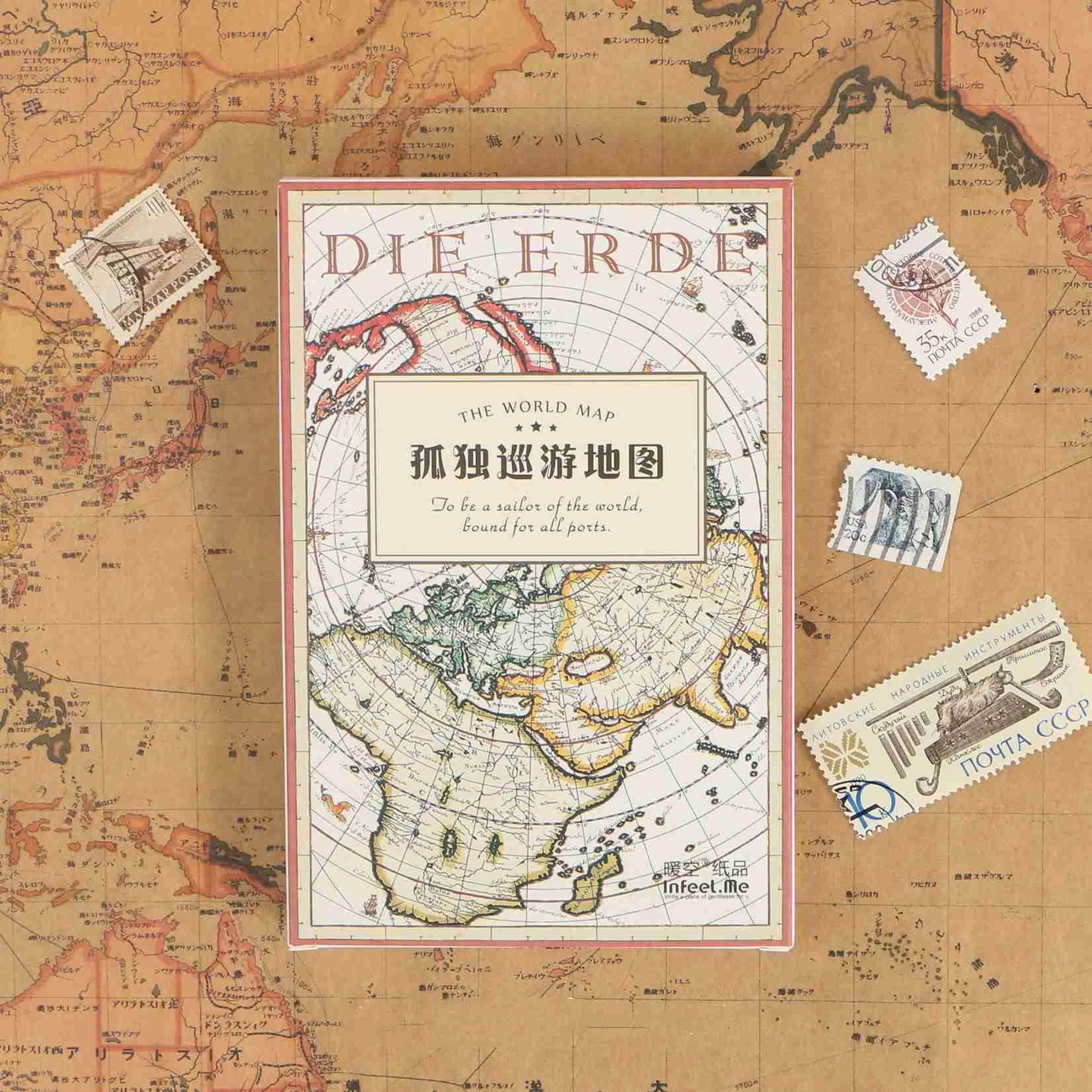 Поздравительные открытки World Tour, 30 шт., смешанные модели, винтажные художественные открытки, школьные деловые бумажные закладки для книг