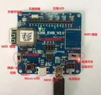 wlt8266_evm iot wifi solution evaluation board supports wifi data control