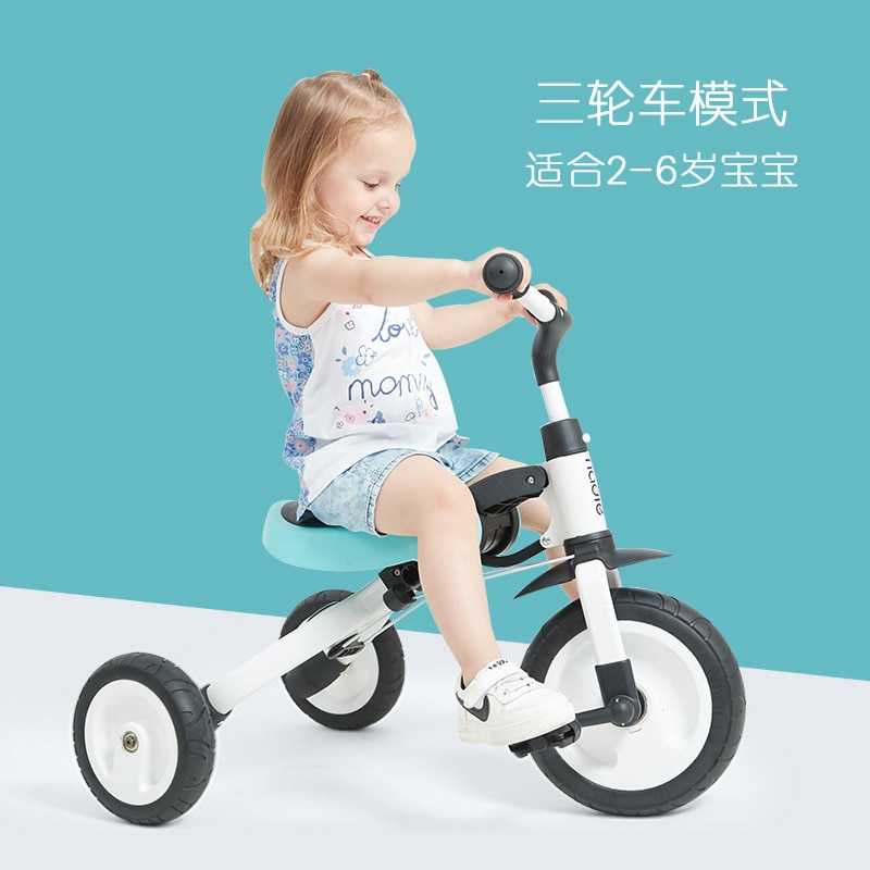 nadle children tricycle trolley 2-3-6 years old bicycle lightweight folding pedal free shipping enlarge