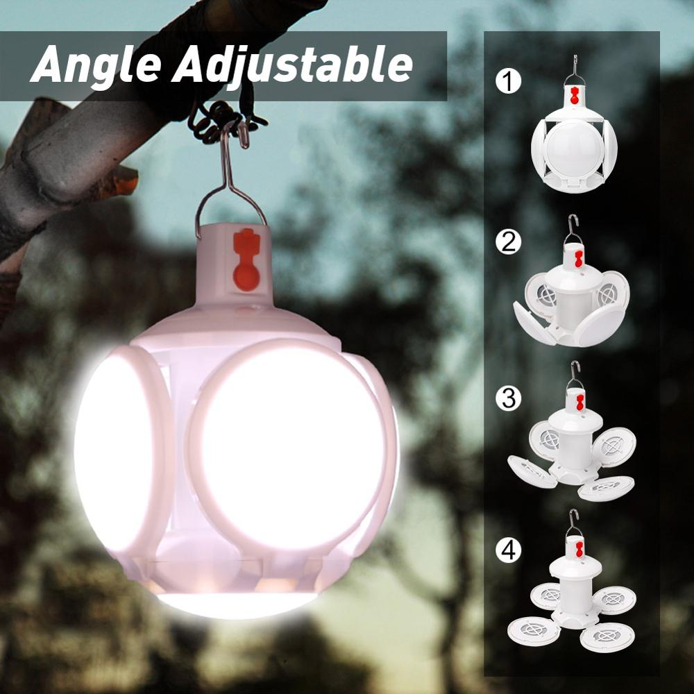 Linterna de trabajo recargable por USB, linterna de Camping, linterna resistente al agua con batería integrada, linterna LED COB con imán/gancho
