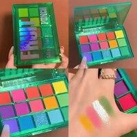 miss lara sweet party eyeshadow pallete neon makeuppalette 15 shimmer glitter matte shade matellic nude blendable pigment powder