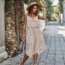 Auto-conçu femmes transfrontalier vente chaude robe 2020 nouvelle robe vacances vent Polka Dot robe K200011