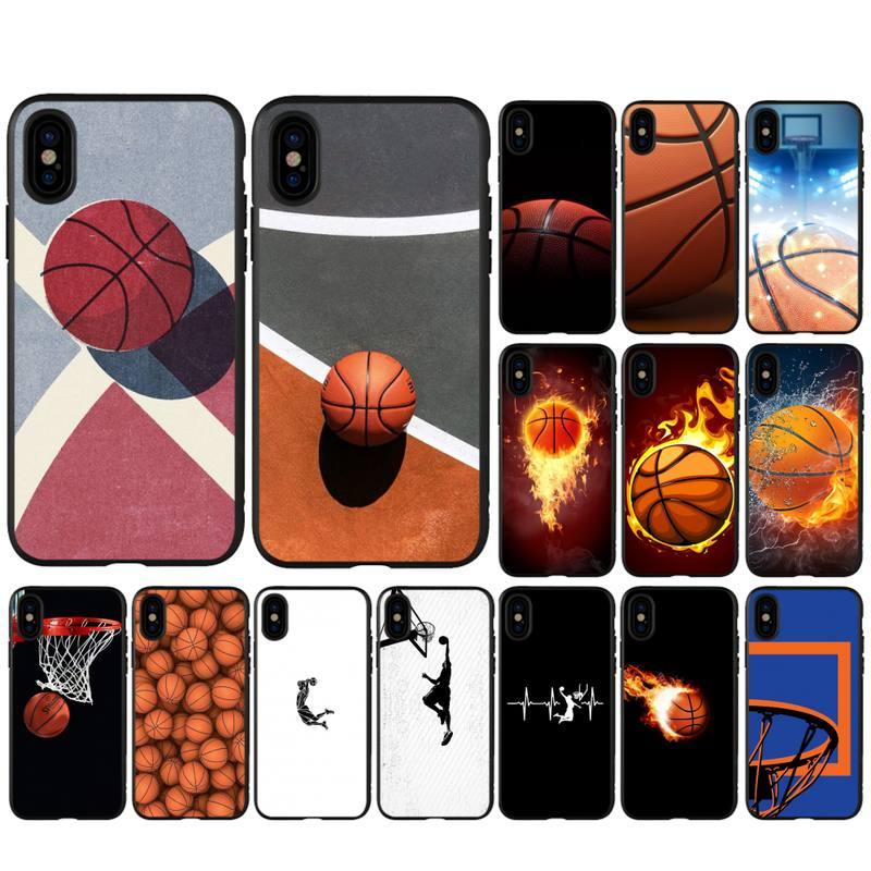 Babaite baloncesto funda de silicona para huawei y6 y7 y9 prime nova 2 2i 3 3i accesorios de teléfono móvil