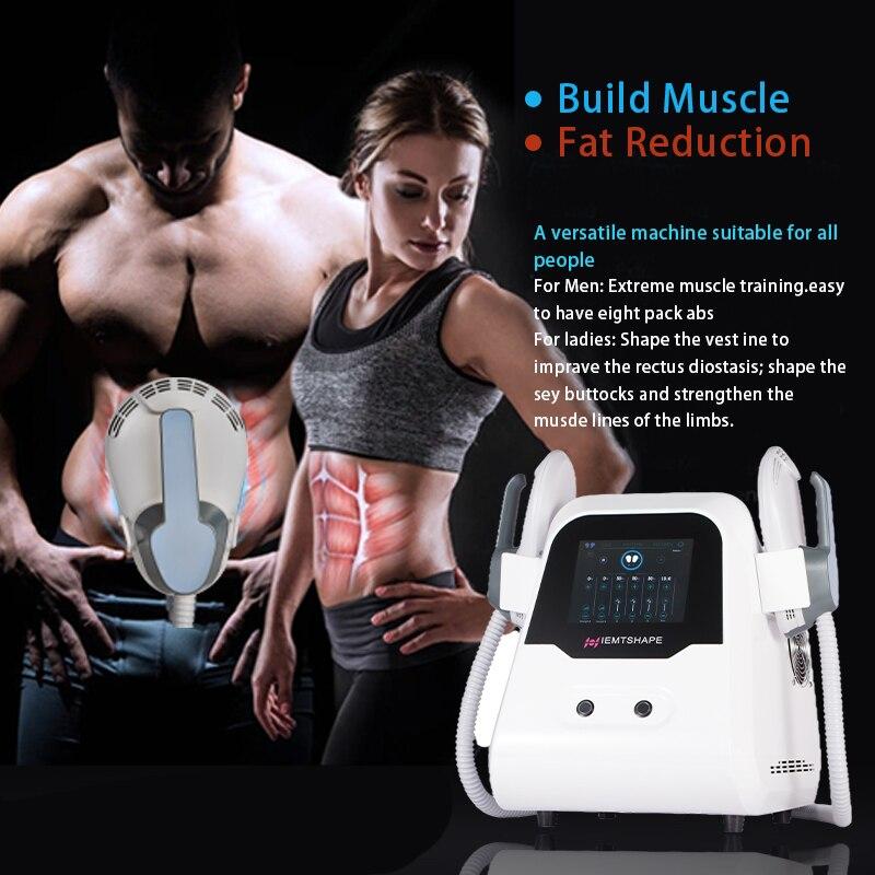 المهنية EMSlim الجسم نحت بعقب رفع بناء العضلات EMS الكهرومغناطيسية محدد شكل الجسم آلة شفط الدهون