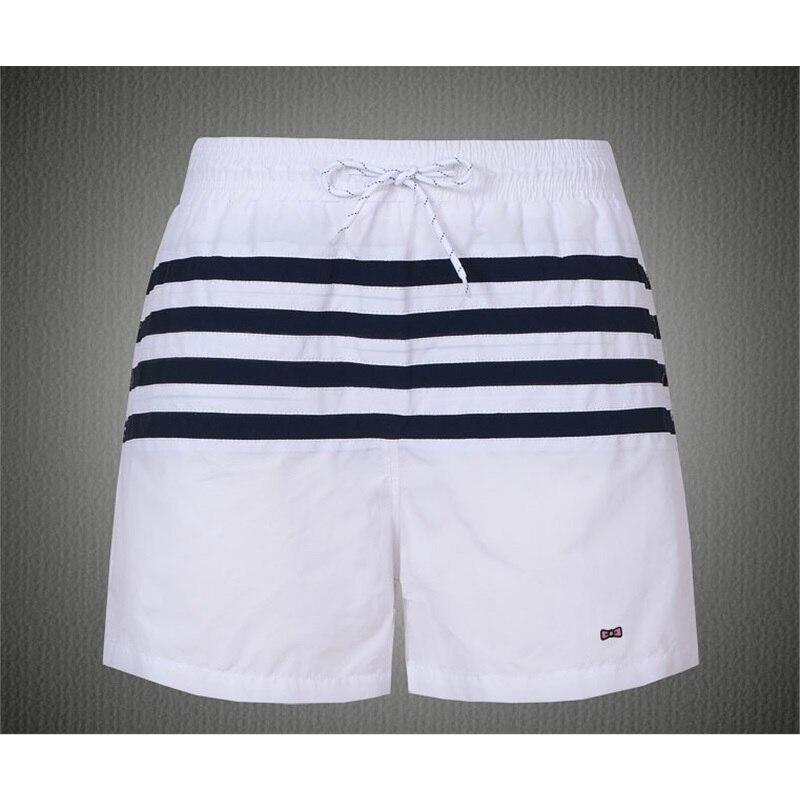 Мужские летние пляжные шорты, полосатые шорты для плавания, одежда для купания, подходящая одежда, серфинг, купальники, мужские шорты Sunga
