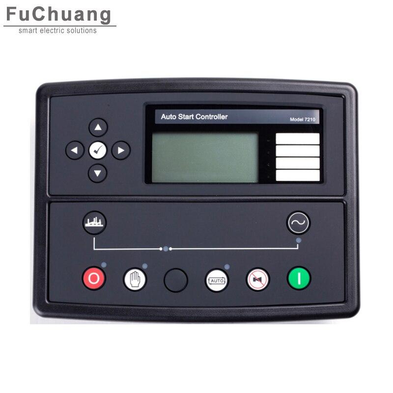 Controlador automático dse7210 amf substituir para dse original 7210 genset para gerador