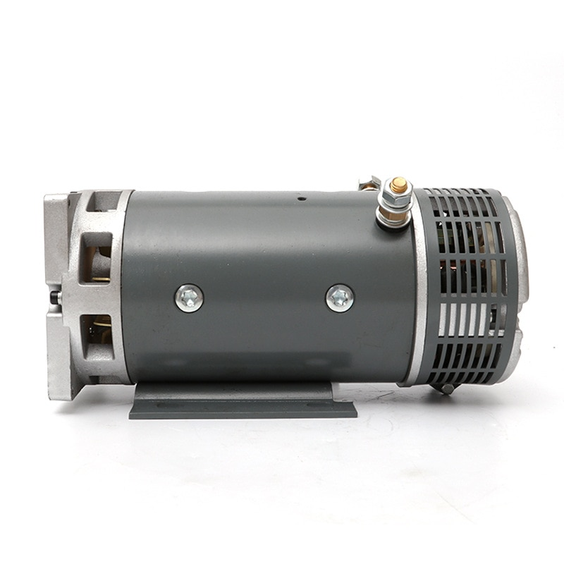 24v4kw DC Motor Power Unit Motor Copper Wire Movement Oil Pump Motor Is Widely Used The Brush DC Motor ZD2941 Black Electrical . enlarge