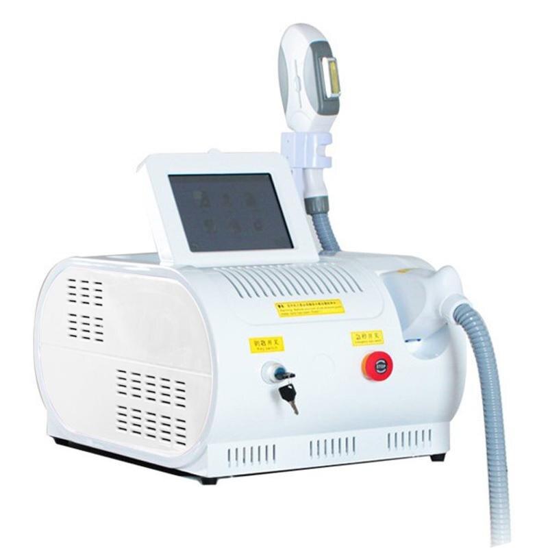 2019 E-luz SHR optar IPL removel máquina de pelo portátil depiladora de rejuvenecimiento de la piel uso en salón de belleza