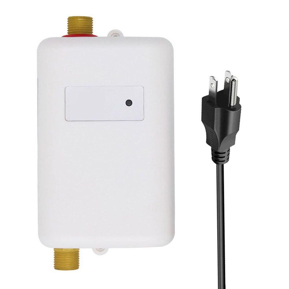 3800 واط 1/2 بوصة خريف شتاء الكهربائية صنابير مياه ساخنة سخانات المياه الفورية سخانات سريعة المنزلية سهلة التركيب