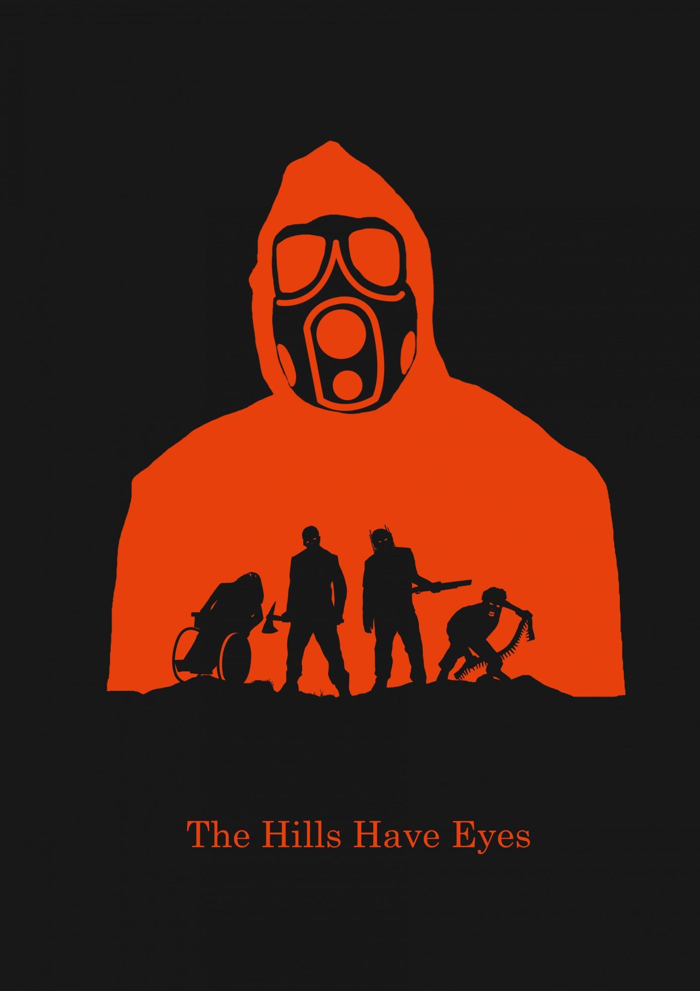 Horror Serie de películas the Hills Have Eyes Poster Vintage Retro lienzo pintura DIY pegatinas de pared arte hogar carteles para Bar decoración regalo