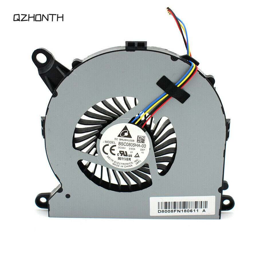 Ventilador de refrigeración de la Cpu del ordenador portátil para Intel NUC NUC8i7BEH M.2 + SATA3 BSC0805HA-00