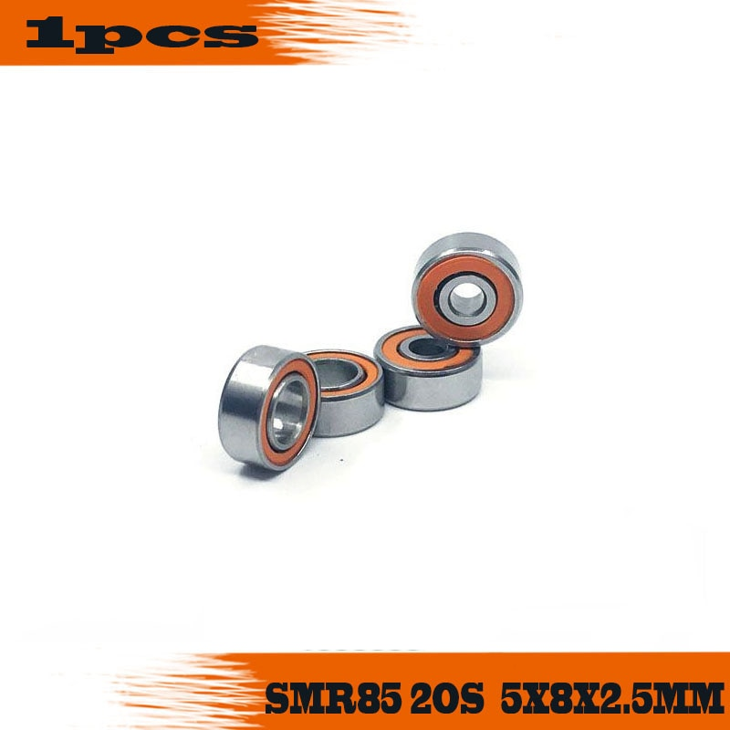 1 unidad SMR85 2OS 5X8X2.5mm CB ABEC7 rodamientos de cerámica híbridos de acero inoxidable/rodamientos de carrete de pesca SMR85-2RS