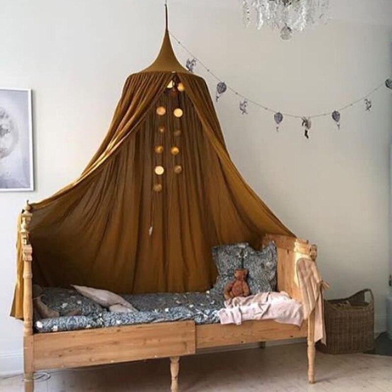 KAMIMI Baby Baldachin Moskito Net Hängen Kinder Baby Bettwäsche Dome Bett Baumwolle Bettdecke Baby Bett Vorhang Krippe Netting Moskito Net