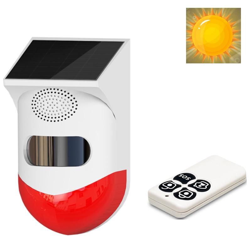 Дома охранной сигнализации солнечные PIR оповещения Инфракрасный сигнализации Сенсор Противоугонный детектор движения сигнализации Монит...