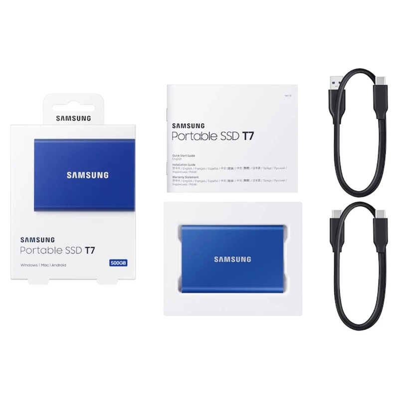 Samsung External SSD Portable SSD 1TB Hard Drives NVME 500GB Type C USB 3.2 Gen2 External Solid State Drives 2TB SSD For Laptop enlarge