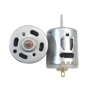 2PCS DC Motor 12V 14700RPM 24V 28000RPM with Piezoresistor RS-365S Motors