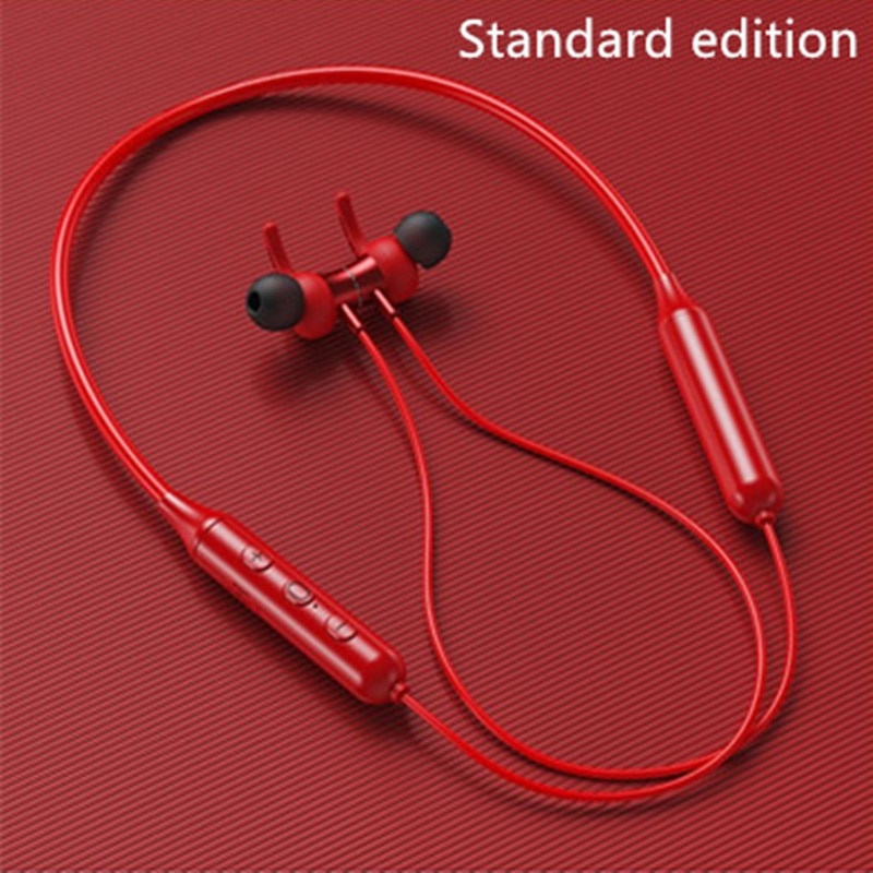 DAONO DD9 Magnetic Wireless Bluetooth Earphones reduction Earbuds Sports Running Neckband With Mic Sport earbuds Noise Earphones