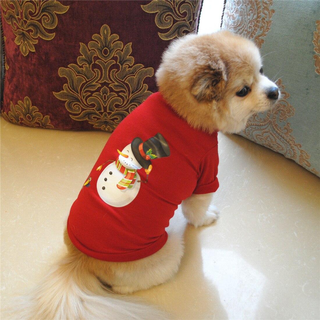 Ropa para perros y mascotas, disfraz de Navidad, ropa bonita de dibujos animados para perros pequeños, ropa para perros