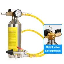Auto klimaanlage rohr reiniger reinigung flasche kälte system rohr wartung kostenloser reinigung flasche werkzeuge