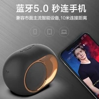 2020 new bluetooth wireless speaker column hifi portable boombox subwoofer speakers support fm radio tf aux usb for phones