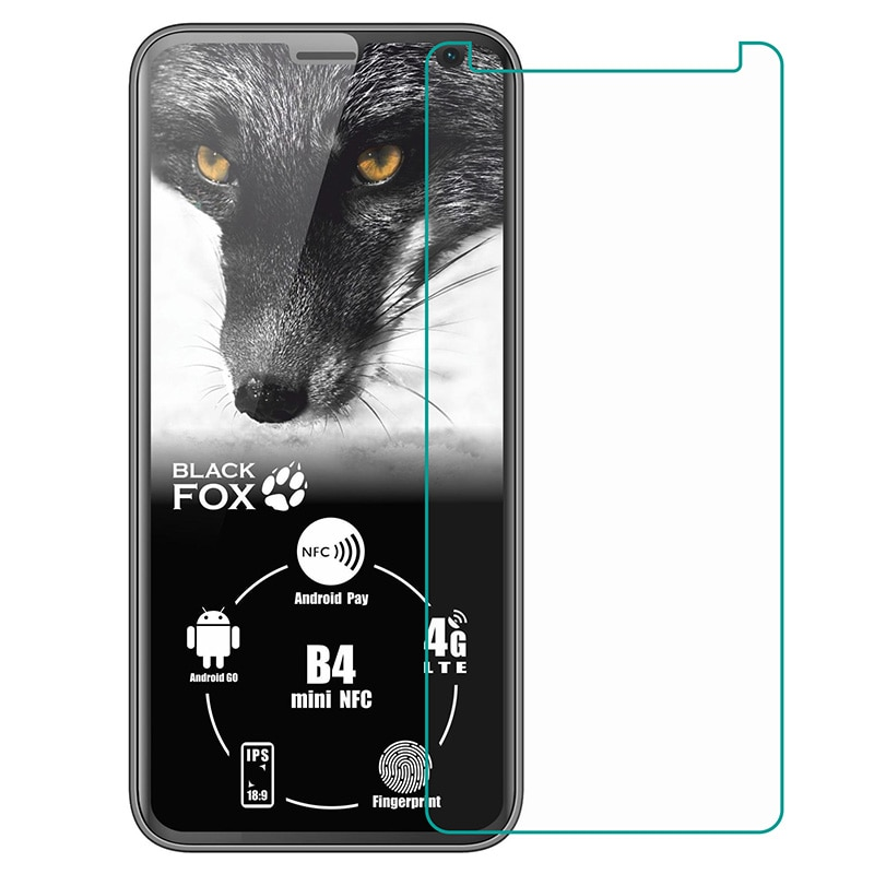 Закаленное стекло для Black Fox B4 mini NFC BMM541B BMM 541B стеклянная защитная пленка Взрывозащищенная защитная пленка для экрана телефона