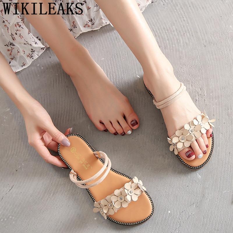 Zapatillas de verano para mujer, zapatillas y sandalias, zapatillas lindas de moda para mujer, Buty Damskie Schoenen Vrouw Chaussure Femme 2020