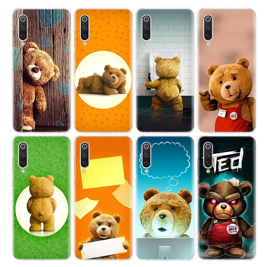 Teddy film bär Telefon Fall Für Xiaomi Redmi Hinweis 9s 8T 8 7 6 6A 8A 5 Pro mi 9 8 CC9 10 K30 K20 F1 5X 6X Abdeckung Coque