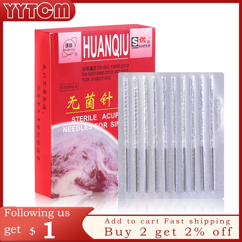 1000pcs Acupuncture Needle Disposable Needle Acupuncture Beauty Massage Needle health care healthcare