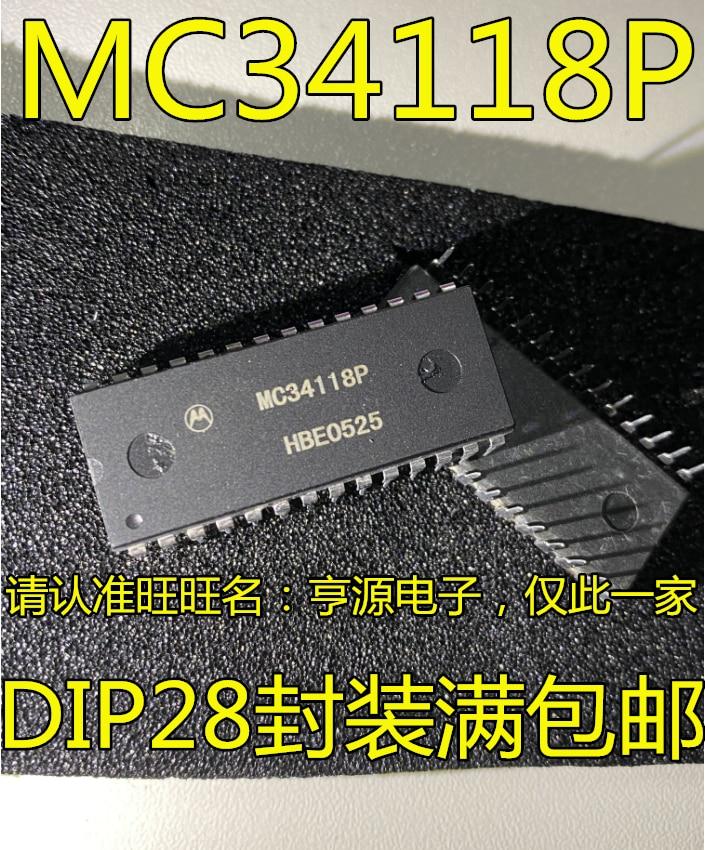 100% oryginalne i nowe MC34118 MC34118P DIP28