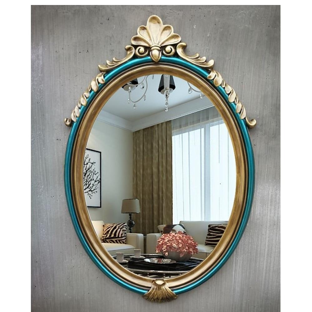 Modern wall mirror vanity makeup glass bathroom mirror  wall decorative art mirror wall-mounted     WJ122426