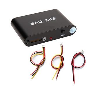 HD FPV AV Recorder 1CH SD DVR Micro 720P 30FPS HD DVR Support 32G TF card DVR For Analog Camera.