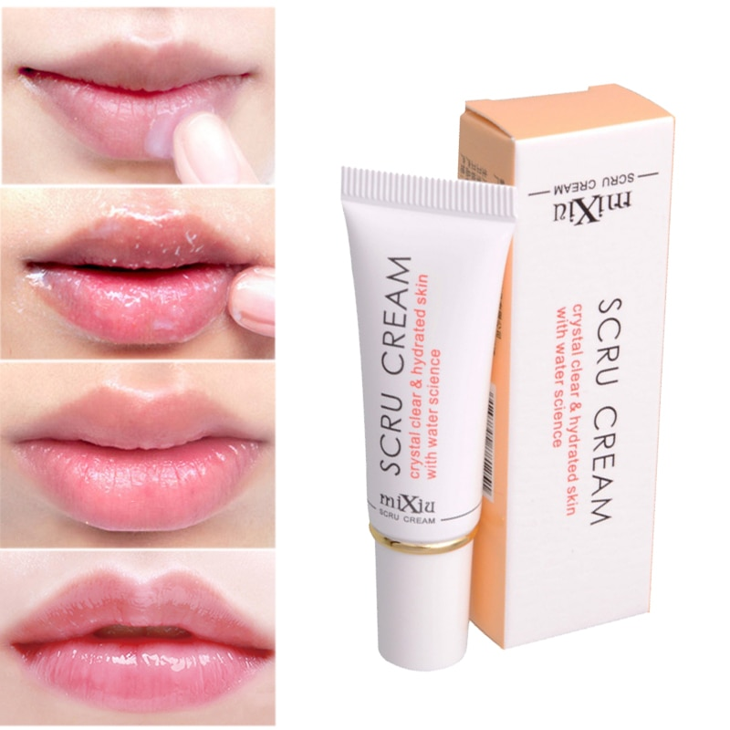 1pcs Protect Lip Scrub Moisturizing Remove Dead Skin Lip Care Exfoliating Gel Full Pink Lip Lightening Cream Lipbalm Cosmetics