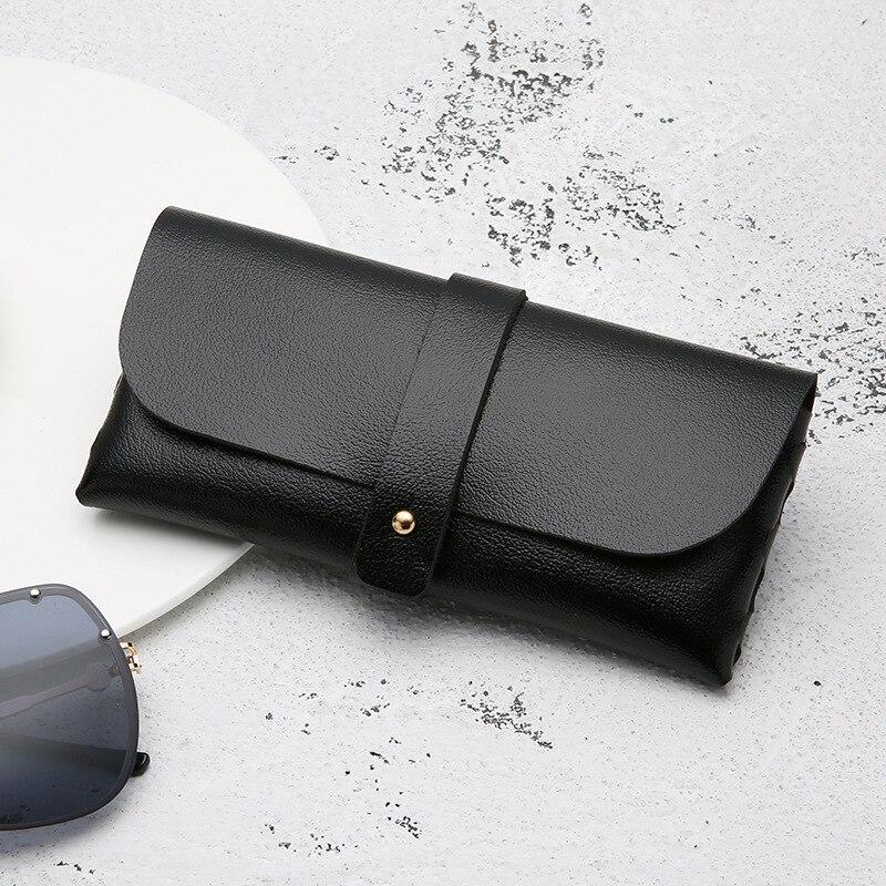 2021 New Women Leather Soft Glasses Bag Fashion Portable Sunglasses Box Bags Accessories Eyeglasses